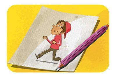 آموزش نقاشی کارتونی برای نوجوانان